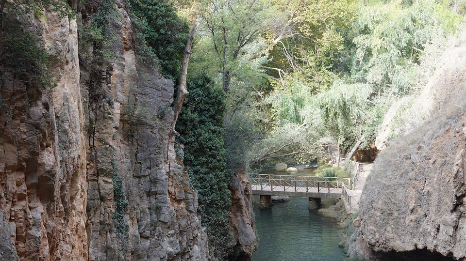 Water, River, Landscape, Nature, River Stone Monastery