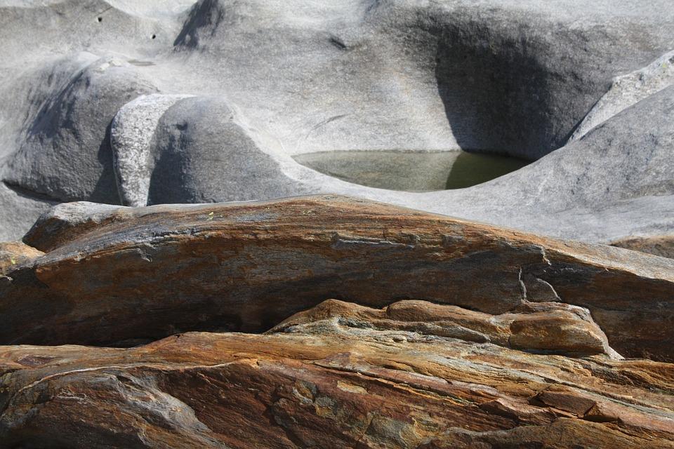 Verzasca, Riverbed, Water, River, Lavertezzo, Ticino