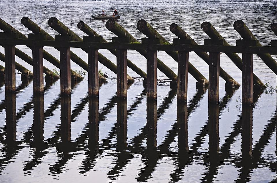 Water, Bridge, River, Landscape, Nature, Footbridge