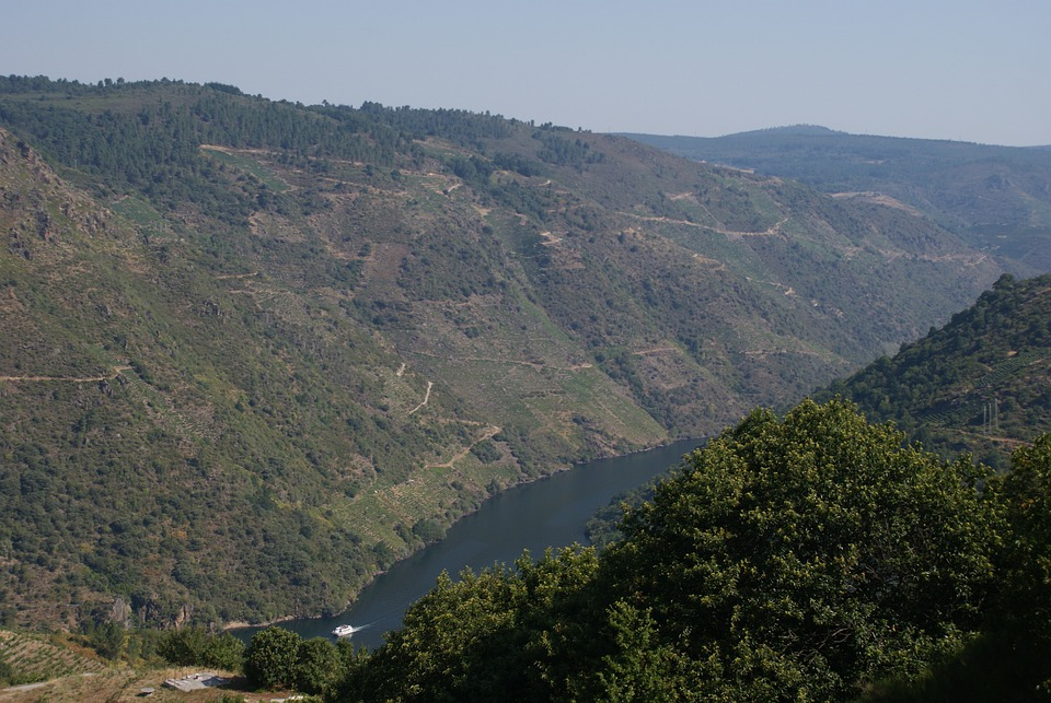Ribeira Sacra, Sil, Landscape, River, Water, Nature