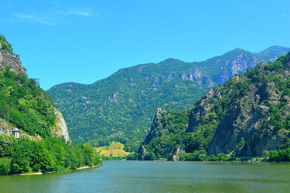 Landscape, Nature, River, Romania, Mountain