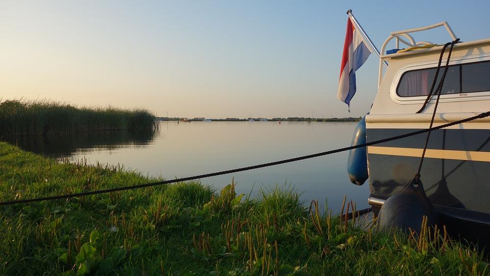 Boat, Water, River, Nature, Serene, Vessel, Netherlands