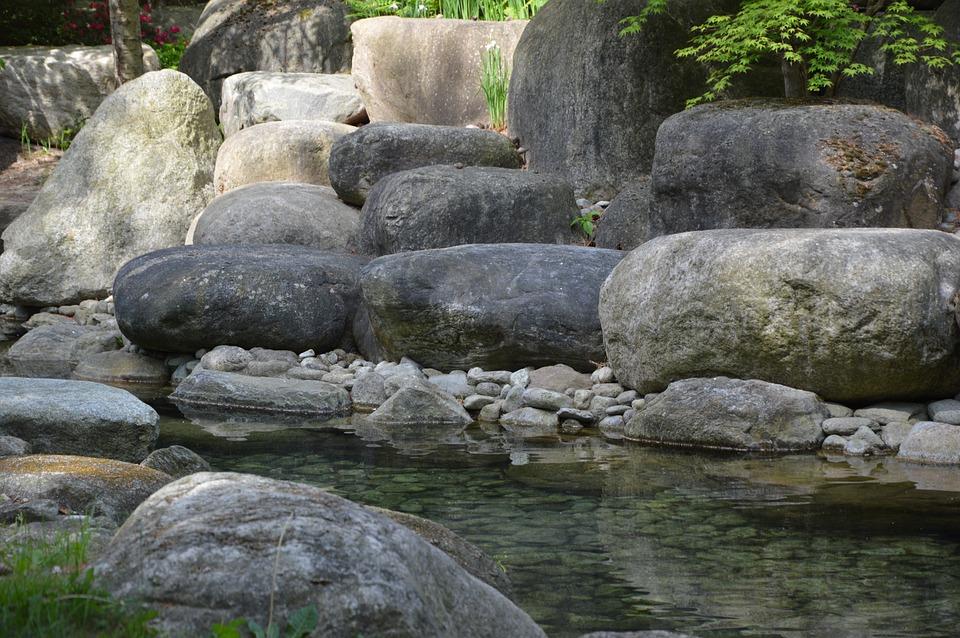 Nature, Stones, River