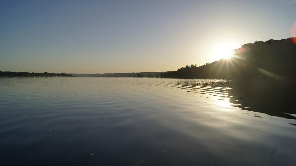 River, Nature, Sunrise