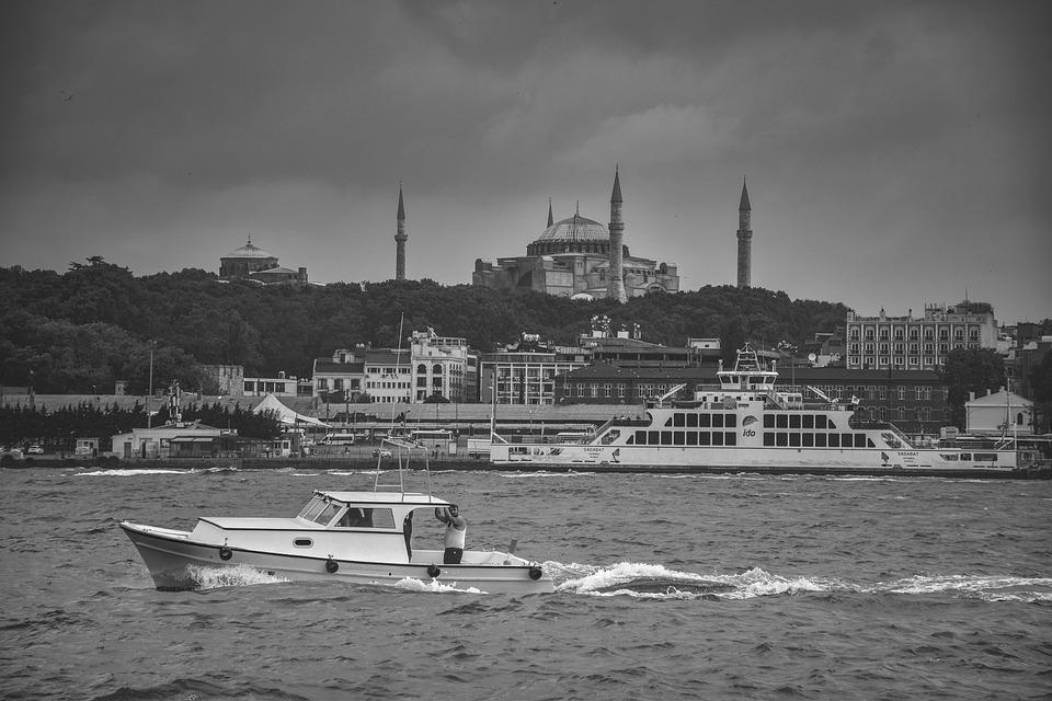 Turkey, River, Water, Landscape, Nature