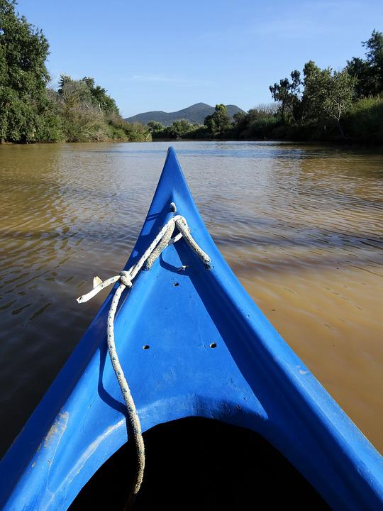 Canoeing, River, Mud, Tuscany, Ombrone, Water