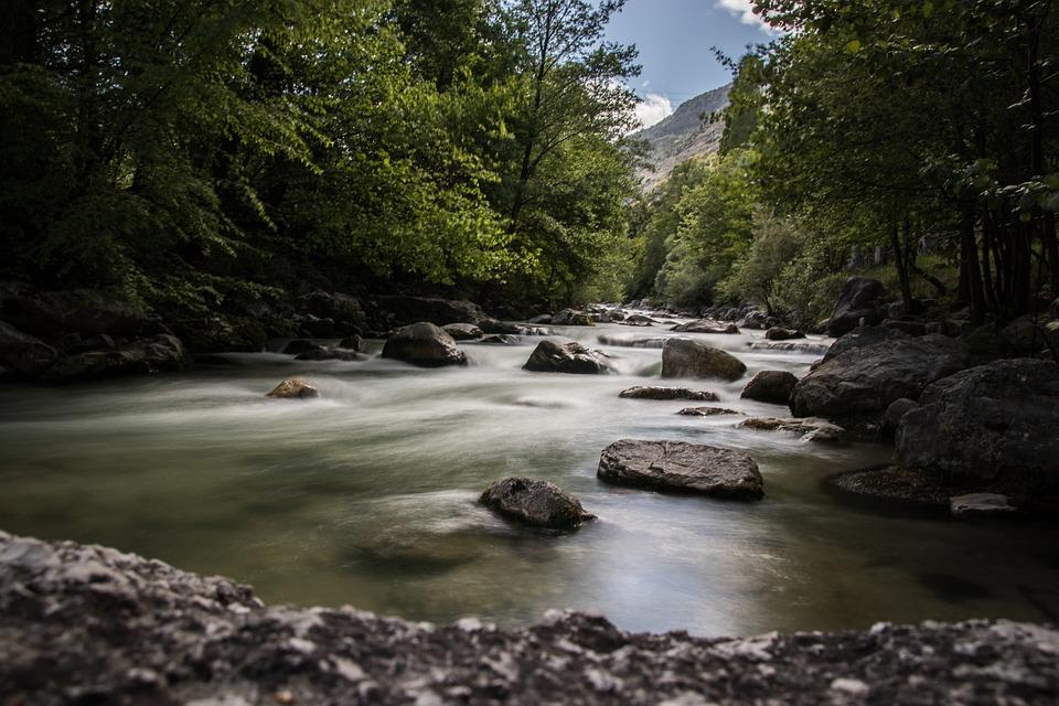 River, Nature, Landscape, Outdoors, Water, Desert
