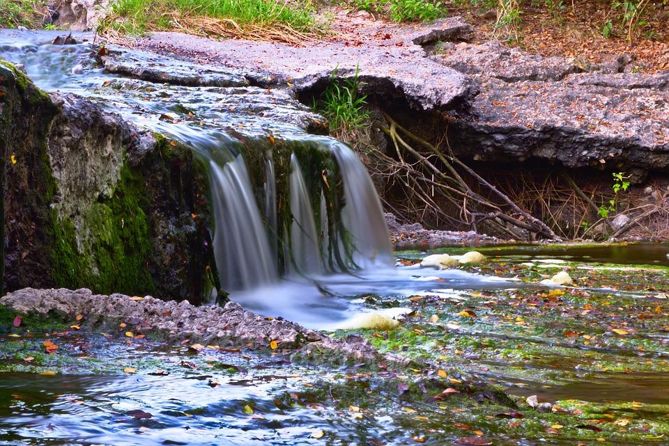 Water, Stream, River, Nature, Waterfall, Outdoors, Wet