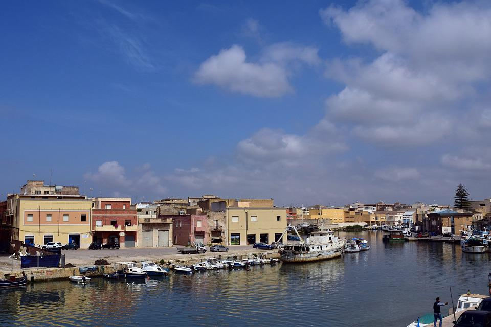 Port, River, Boats, Fishing Port, Small, Mediterranean