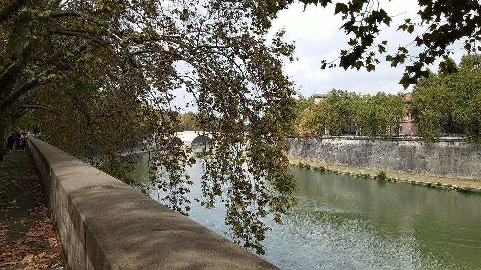 River, Rome, Italy, Tiber