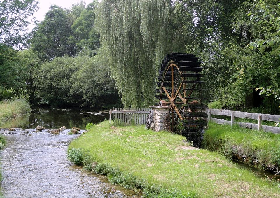 Schambach, Bach, River, Schambach Valley, Origin