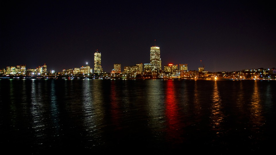 Boston, Charles River, Massachusetts, River, Skyline