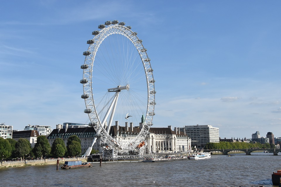 London Eye, River Thames, England, Places Of Interest