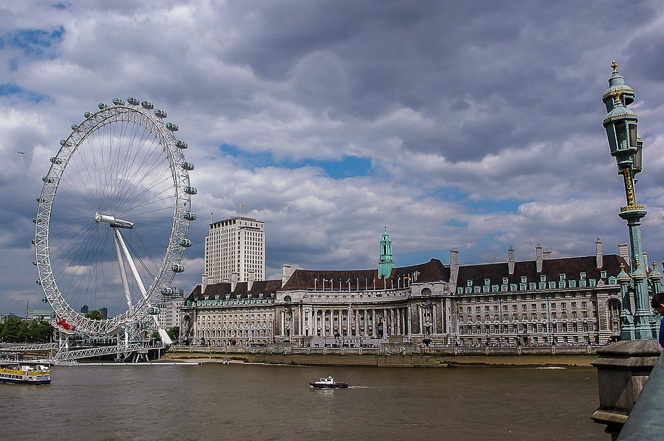 London, Britain, River Thames, City, United Kingdom