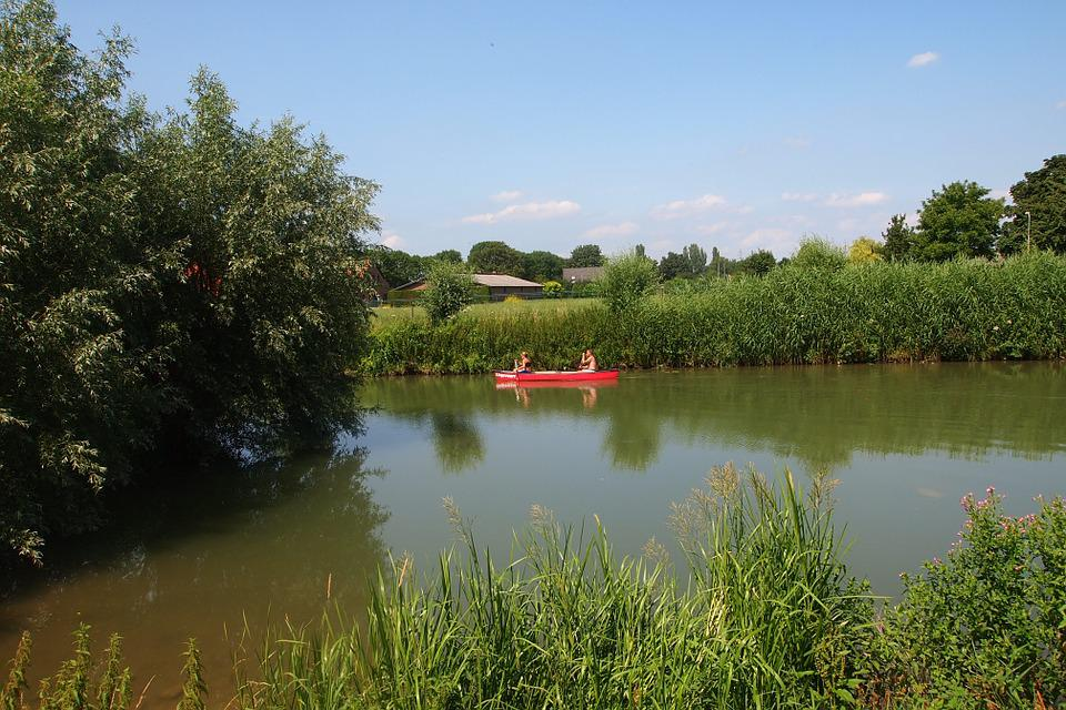 The Eccentric, River, Canoe, Nature, Netherlands, Boat