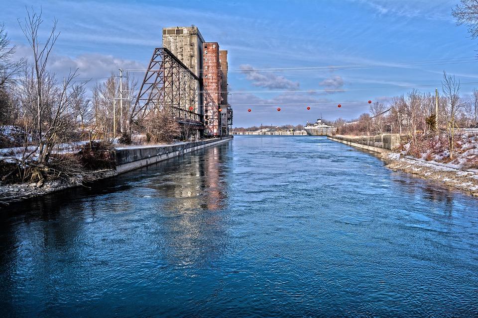 Water, River, Travel, Sky, Bridge, Reflection