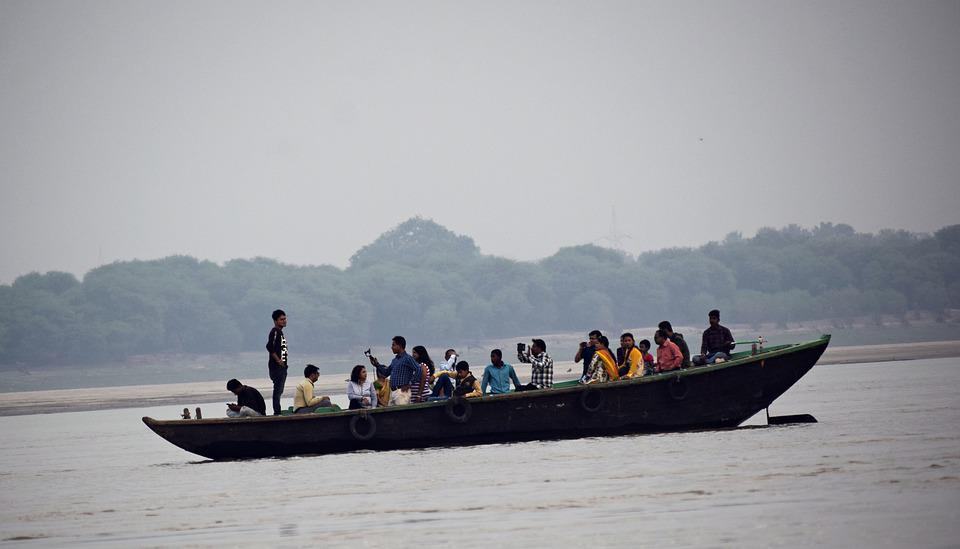 Boat, Tourists, Lake, Water, River, People, Travel
