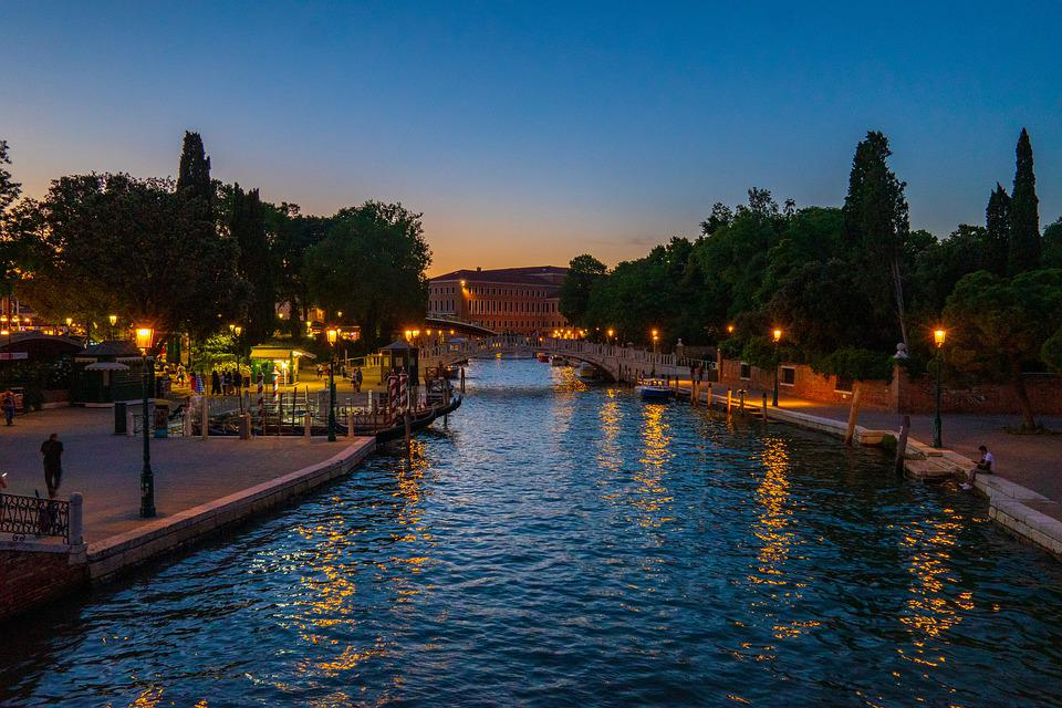 Venice, Channel, River, Italy, Architecture, Water
