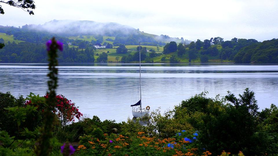 Lake, Boat, Water, Summer, Nature, Sky, River, Vacation