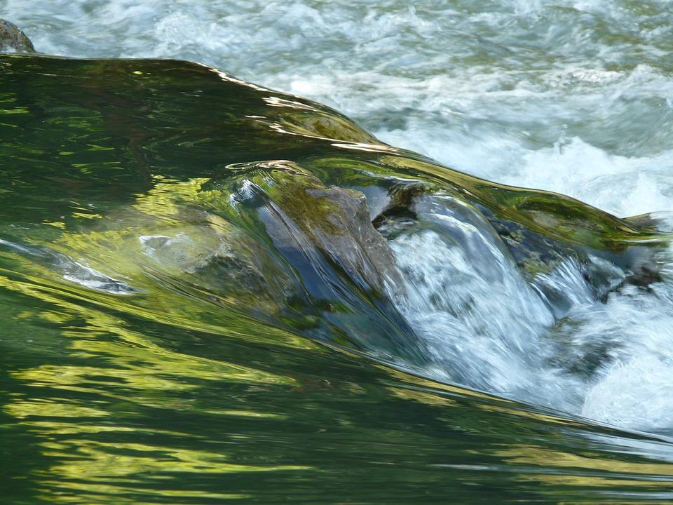 Water, Clear, River, Waters, Bach, Waterfall, Murmur