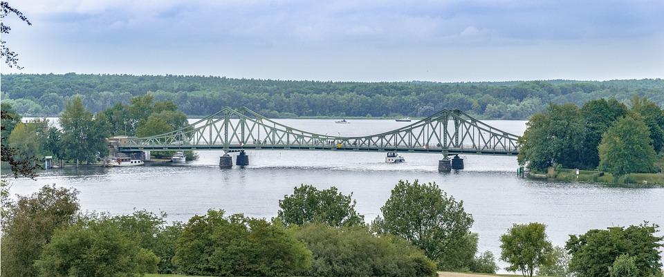 Waters, Bridge, Nature, River, Lake, Panoramic Image
