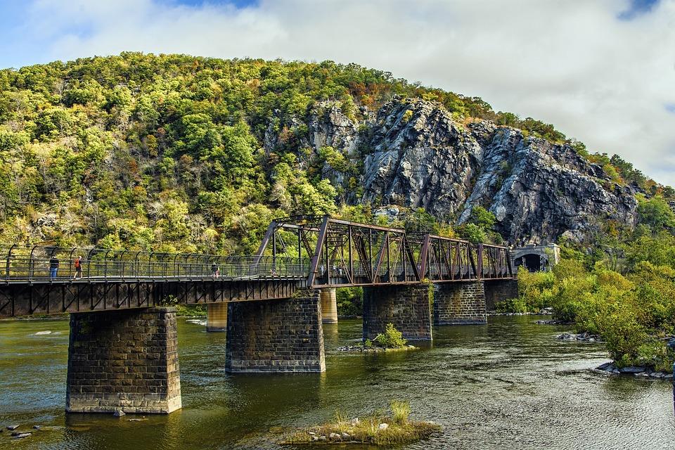 Water, Nature, River, Wood, Tree, West Virginia, Park