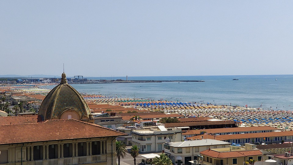 Sea, Italy, Riviera, Water, Travel, Summer
