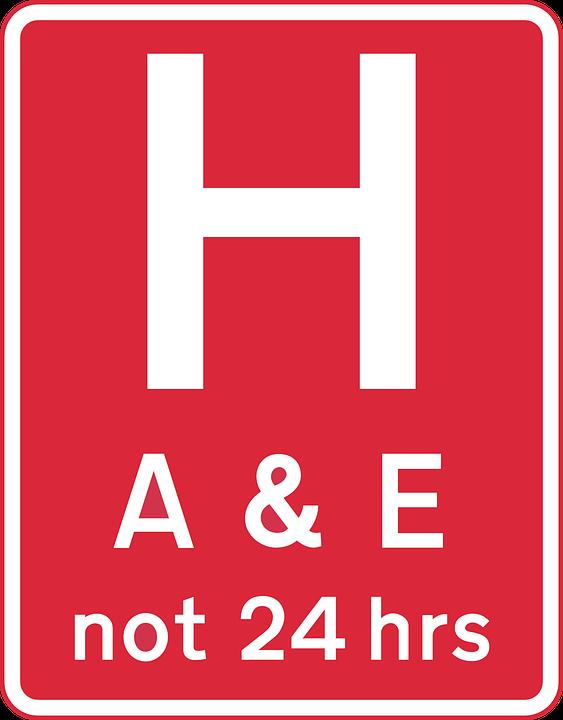 Ahead, Road, Information, Care, Medical, Hospital