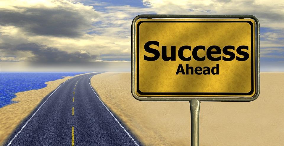 Free photo Road Away Way Of Life Career Success Road Sign - Max Pixel