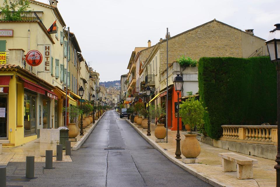 Road, Building, Downtown, Cityscape, Architecture