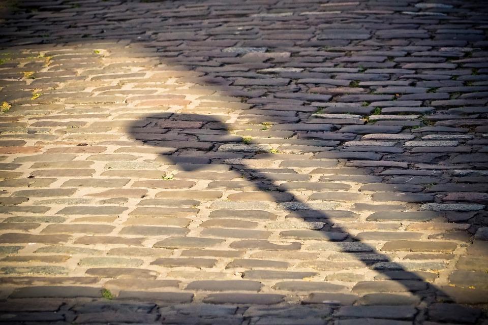 Road, Cobblestones, City, Patch, Historic Center