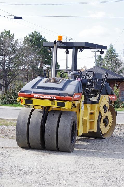 Road Construction, Machine, Industry, Heavy, Equipment