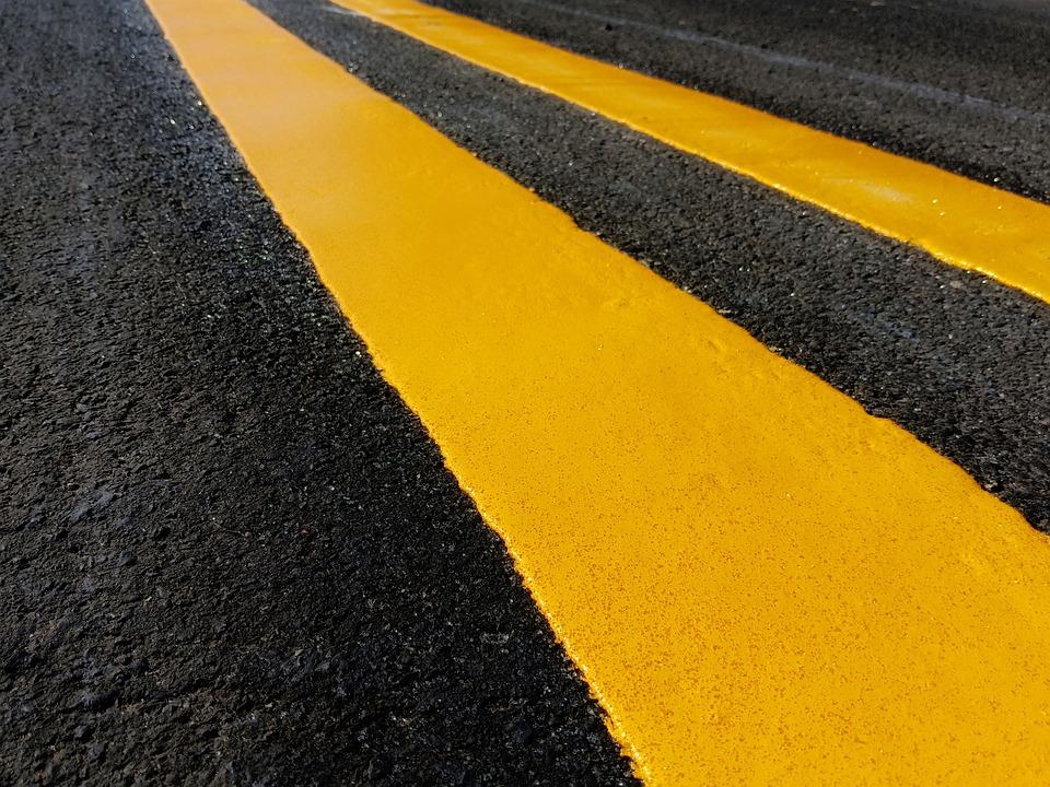 Traffic, Paint, Construction, Road, Street, Asphalt