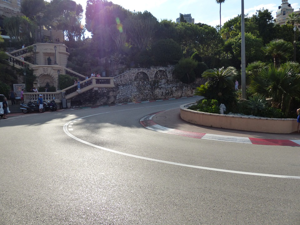 Race Track, Road, Curve, Asphalt, Formula 1