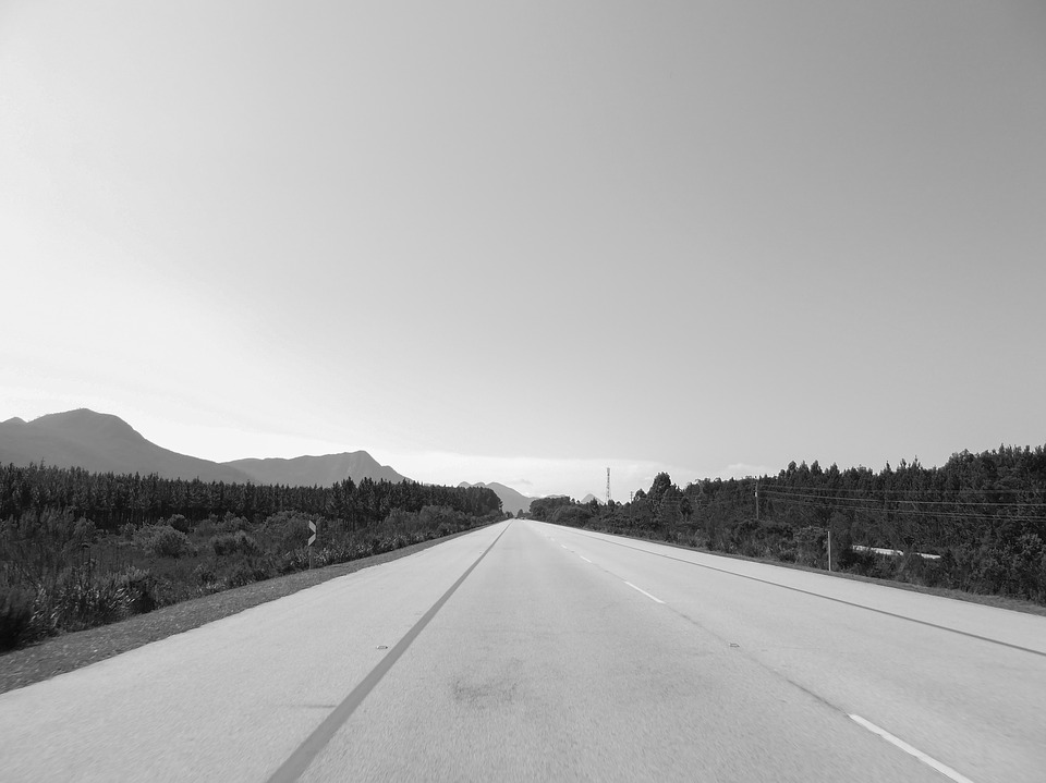 Road, Wide, Distant, Silent, Road Trip, Target