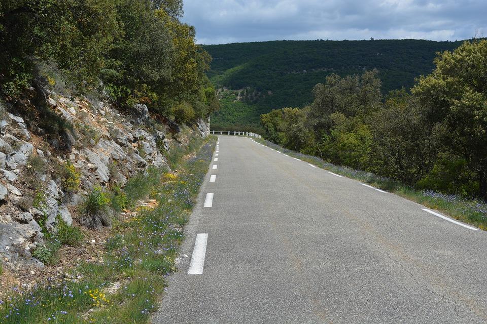 View, Nature, Gorges De La Nesque, France, Road