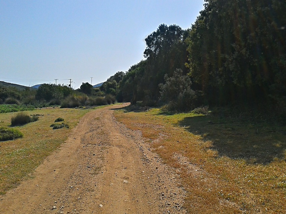 Dirt, Road, Gravel Road, Path, Countryside, Greece