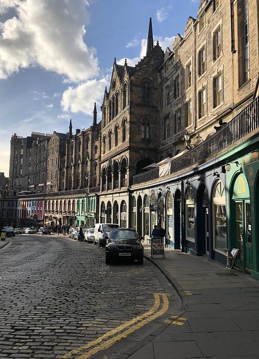 Road, Edinburgh, Tourism, Historically, Scene