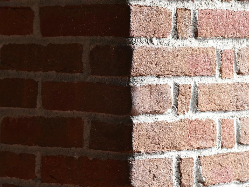 Brick, Home, Clay, Wall, Shadow, Hut, Road, Dark Street