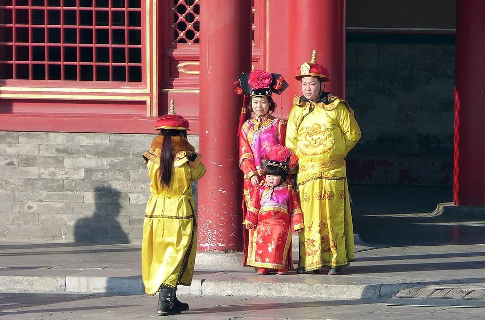 Human, Road, Religion, Traditionally, Clothing, China