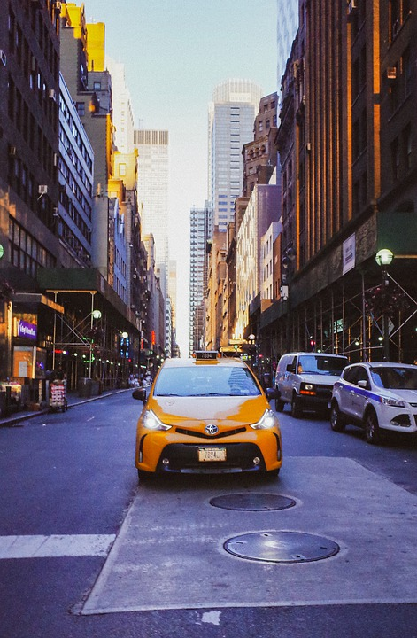 In New York City, City, Architecture, Street, Road