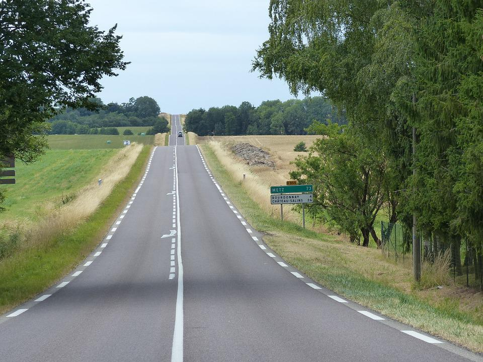 Road, Perspective, Infinite