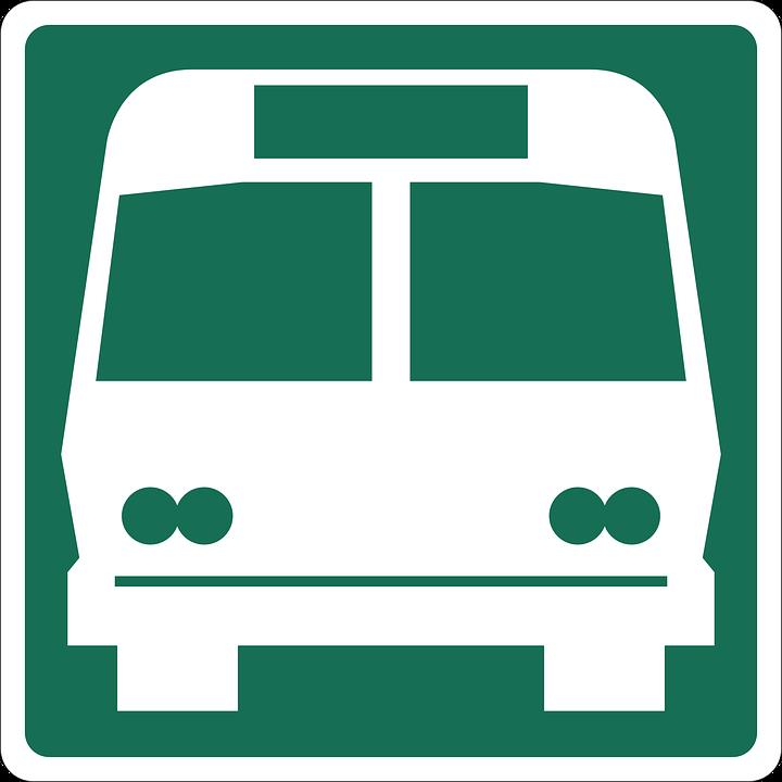 Bus, Road, Information, City, Street, Urban