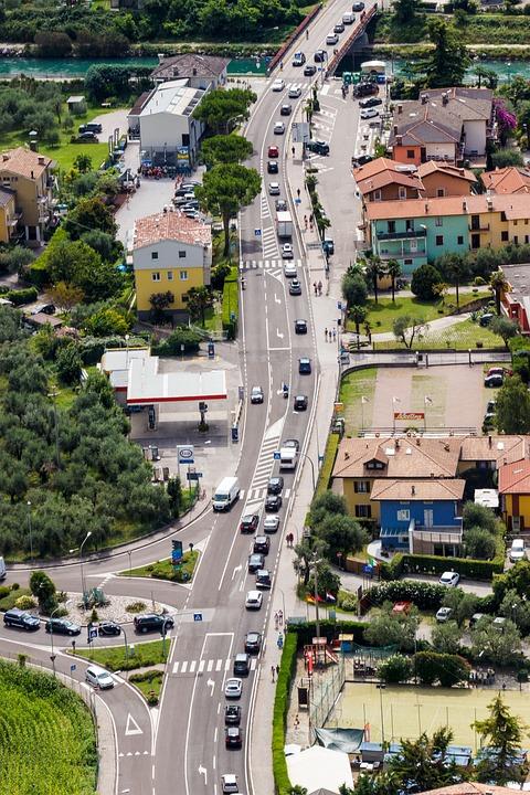 Road, Traffic, Jam, Perspective