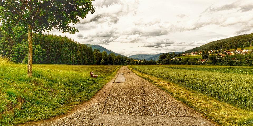Endless, Away, Road, Asphalt, Freedom, Landscape
