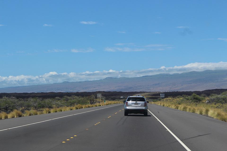 Road, Hawaii, Car, Automobile, Motor, Automotive