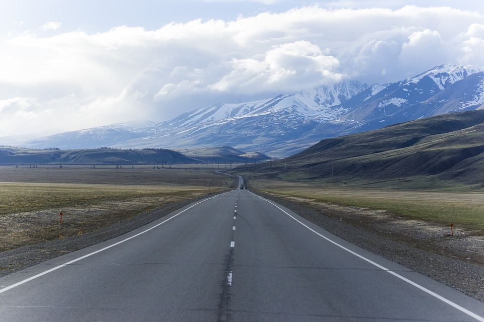 Mountain Altai, Russia, Road, Travel, Mountains