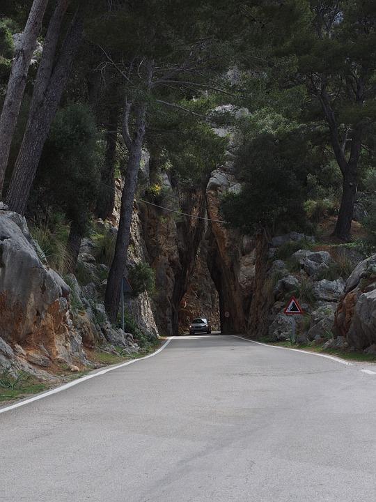 Road, Breakthrough, Passage, Serpentine Road, Ma-2141
