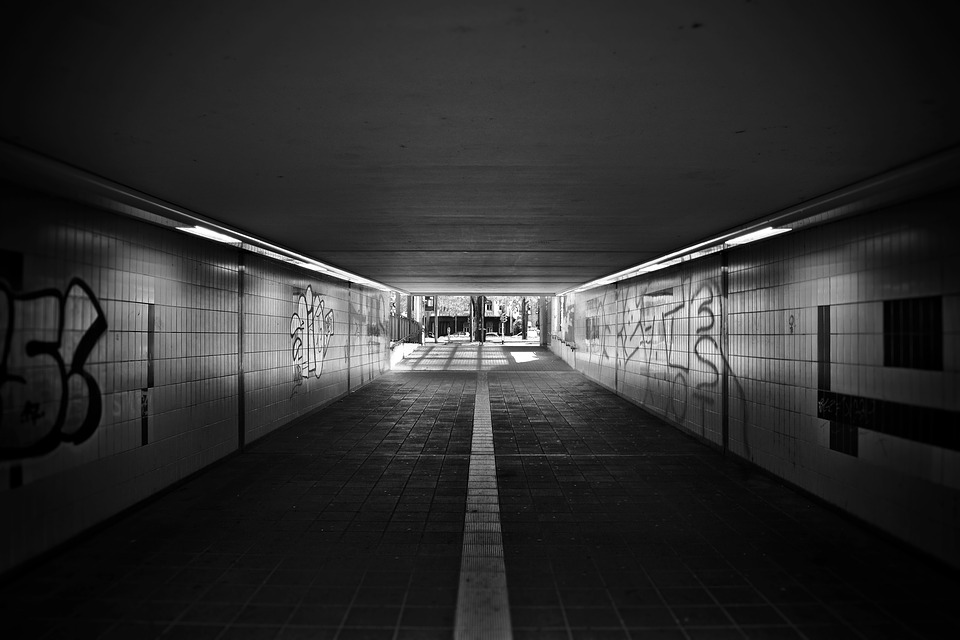 Architecture, Underpass, Tunnel, Passage, City, Road