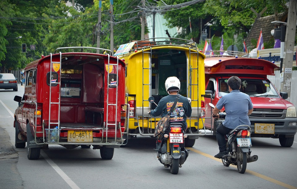 Chiang Mai, Thailand, Road, Road Transport